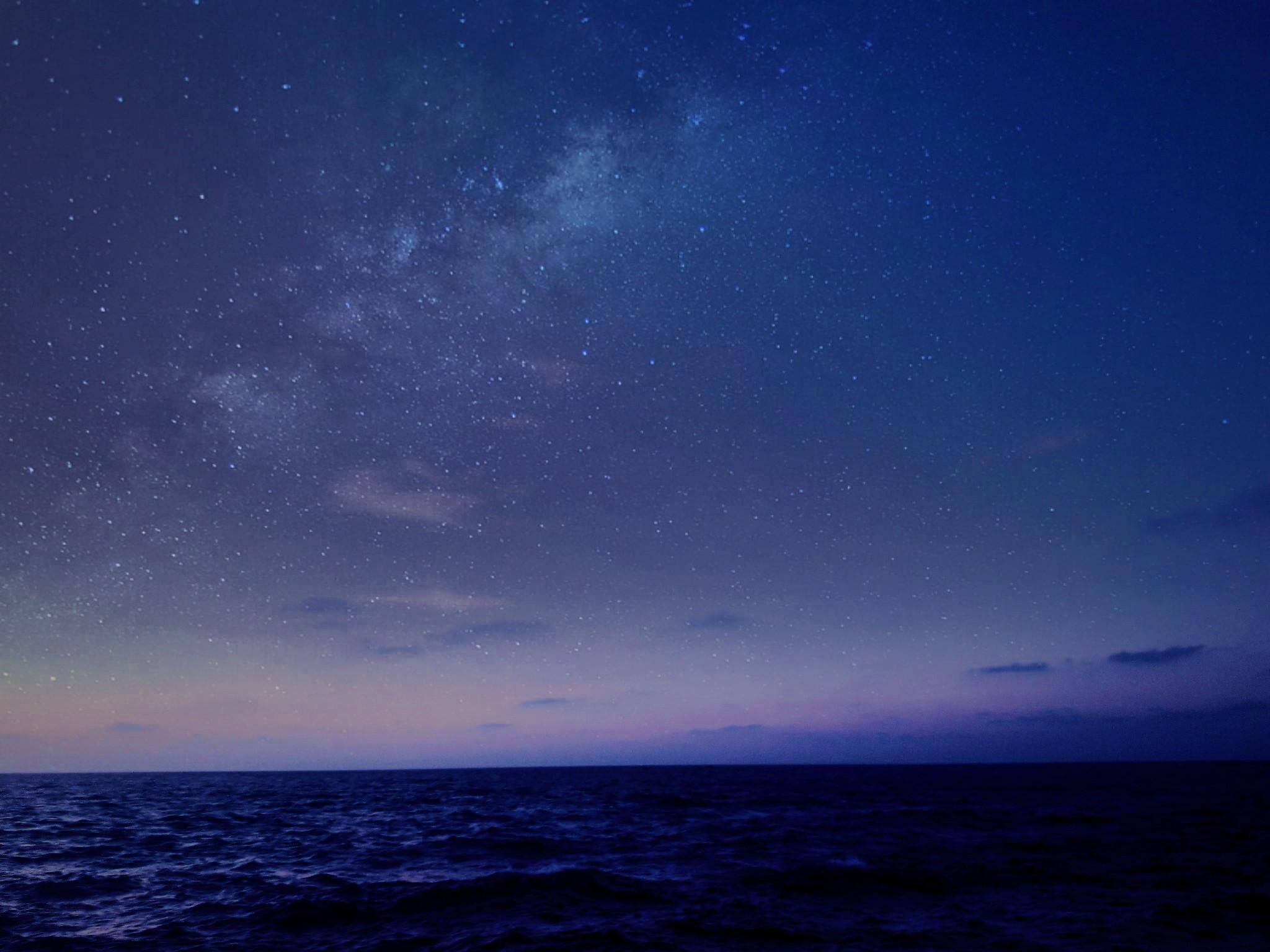 dark blue sky with - photo #36
