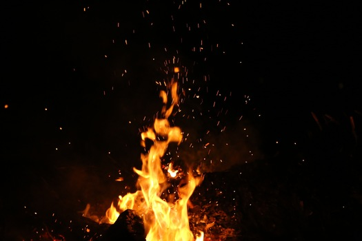 Free stock photo of night, fire, burning, flame