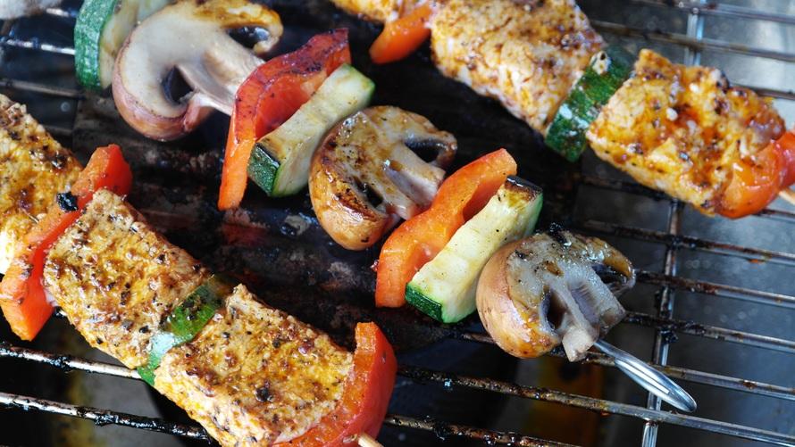 food, vegetables, mushrooms
