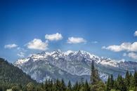 snow, landscape, nature