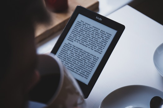 Free stock photo of technology, tablet, book, reading