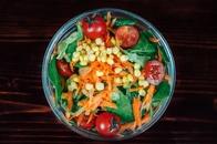 food, salad, vegetables