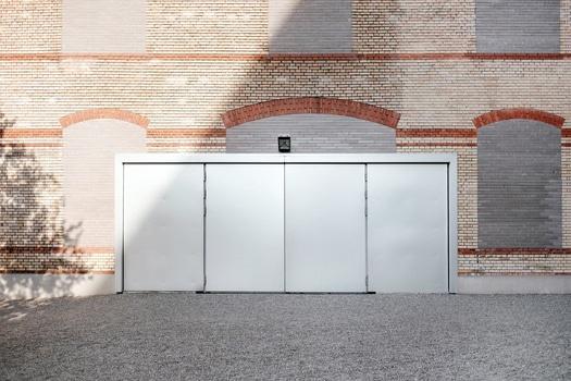 White Rectangular Door