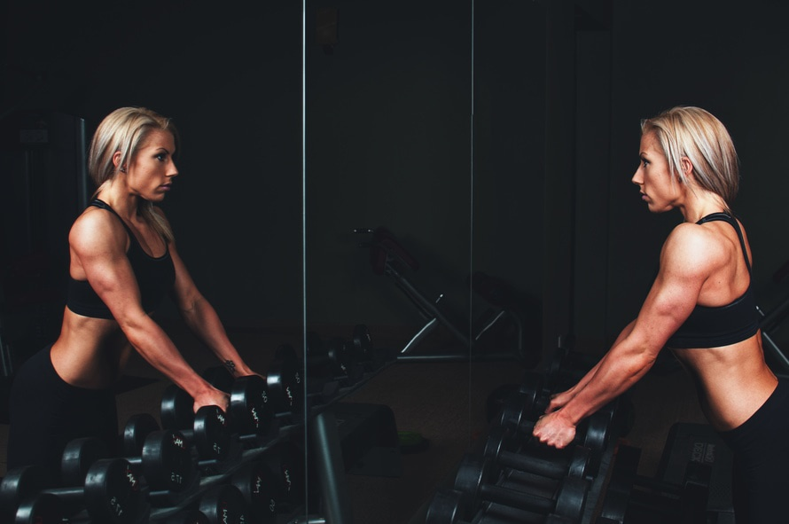 athlete, biceps, blonde