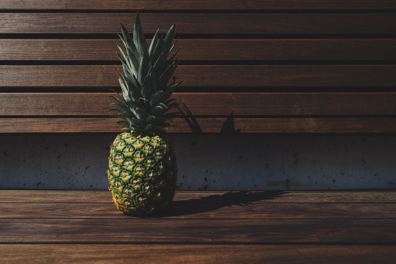 Free Stock Photo Of Bench Fruit Pineapple