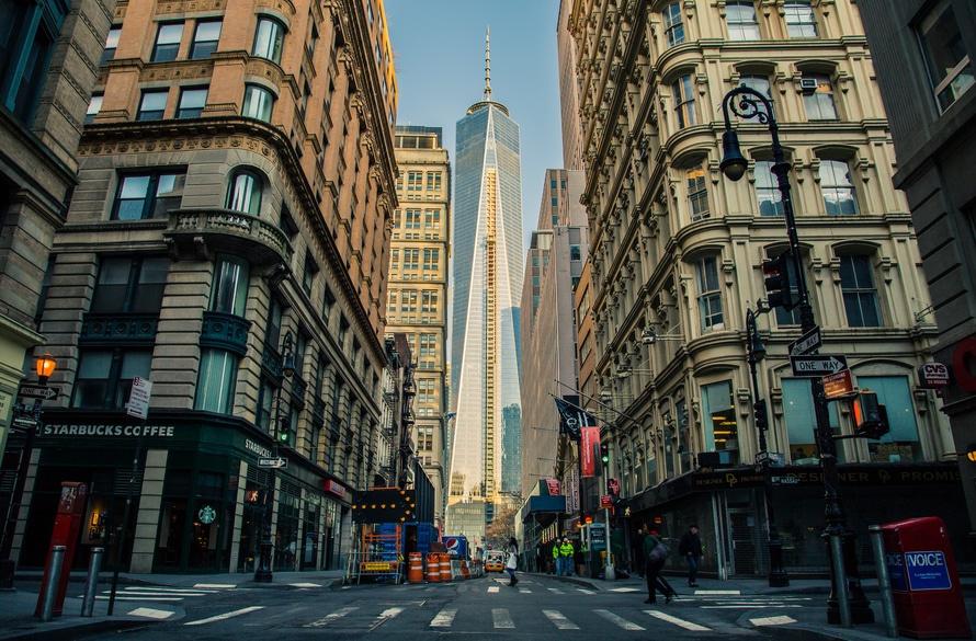 1 WTC, america, architecture