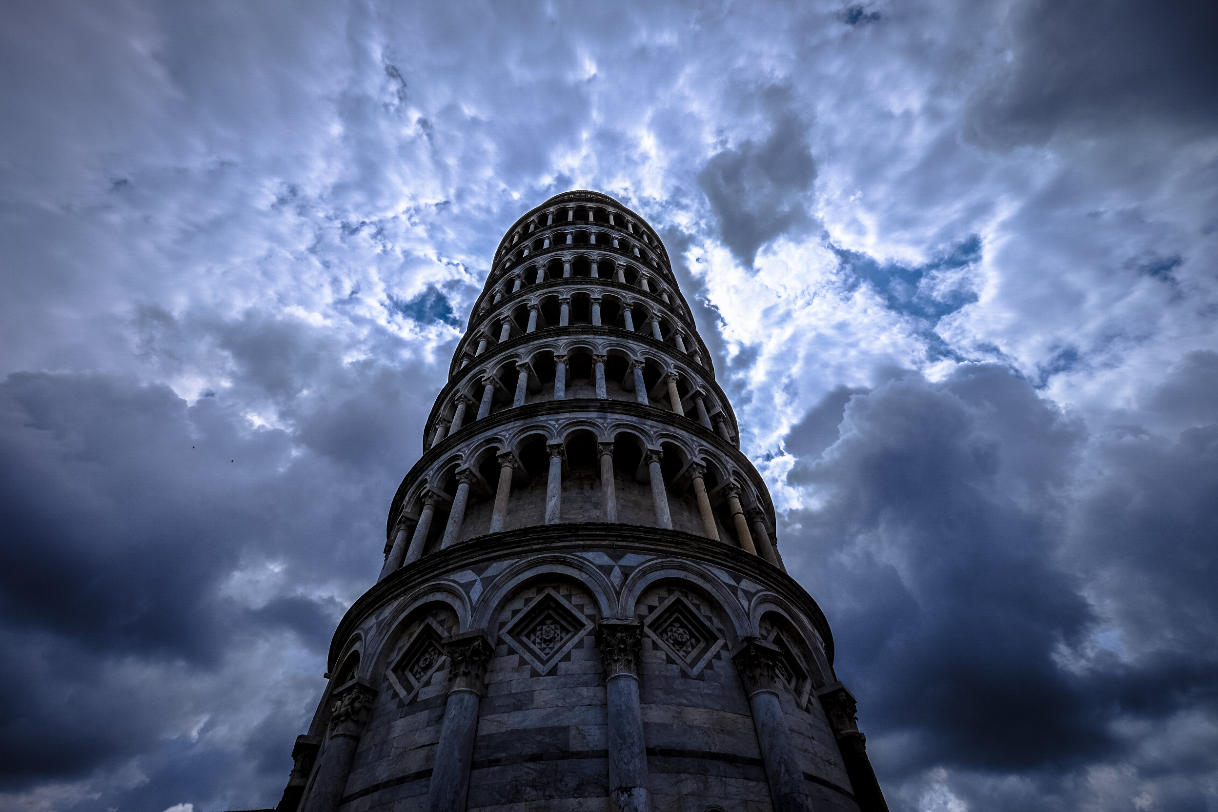 Low Angle Photo Of Grey Concrete Tower Free Stock Photo