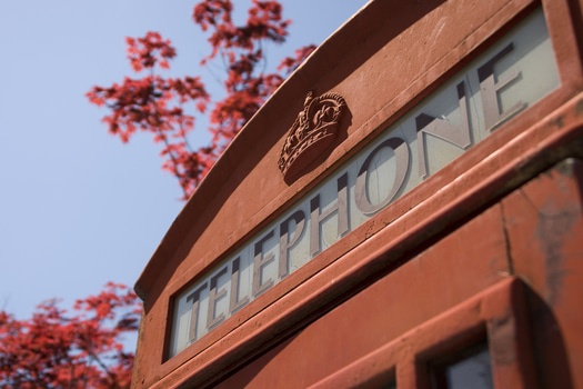 Free stock photo of red, england, great britain, call box