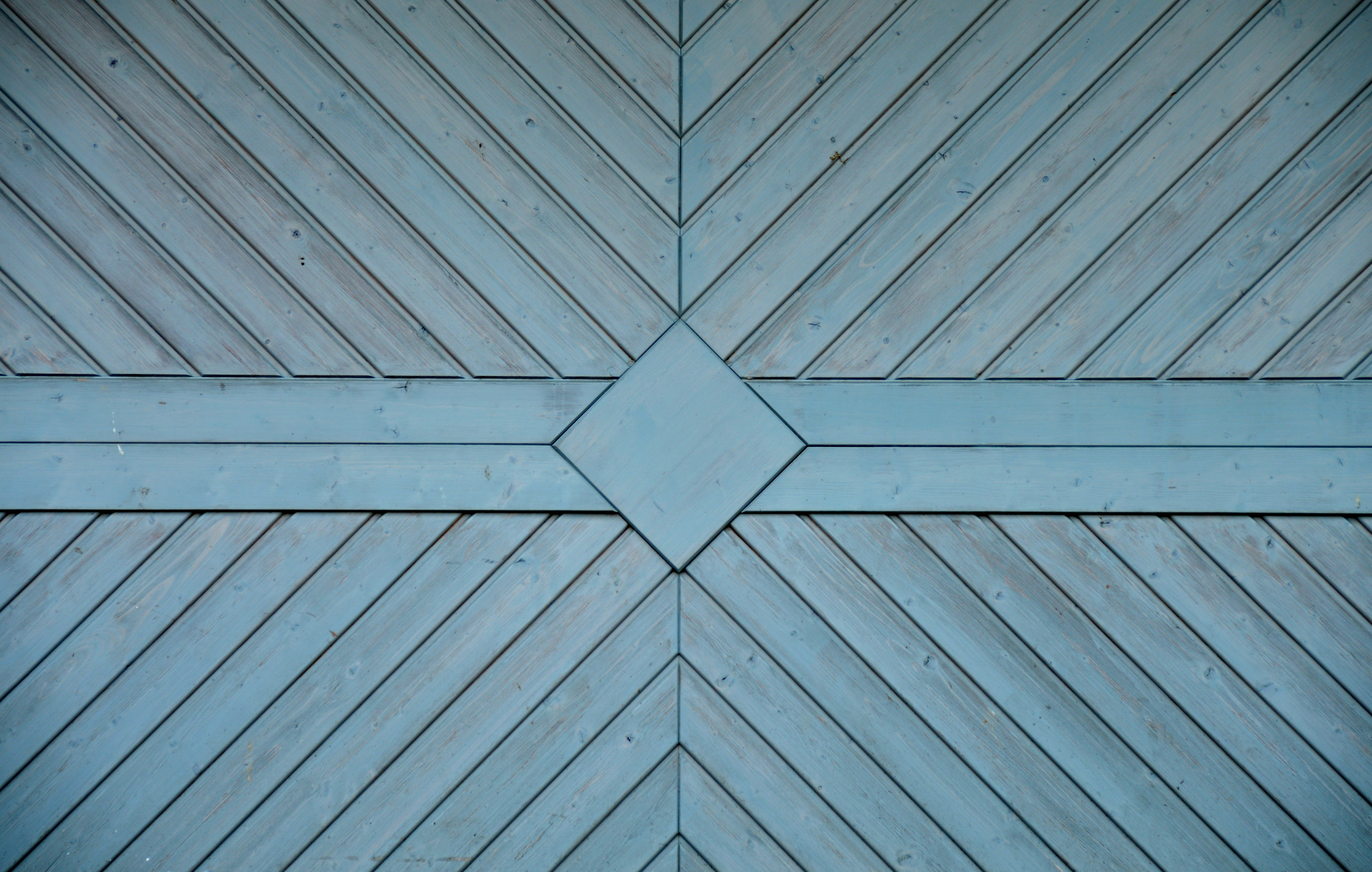 Brown And Blue Wooden Surface 183 Free Stock Photo