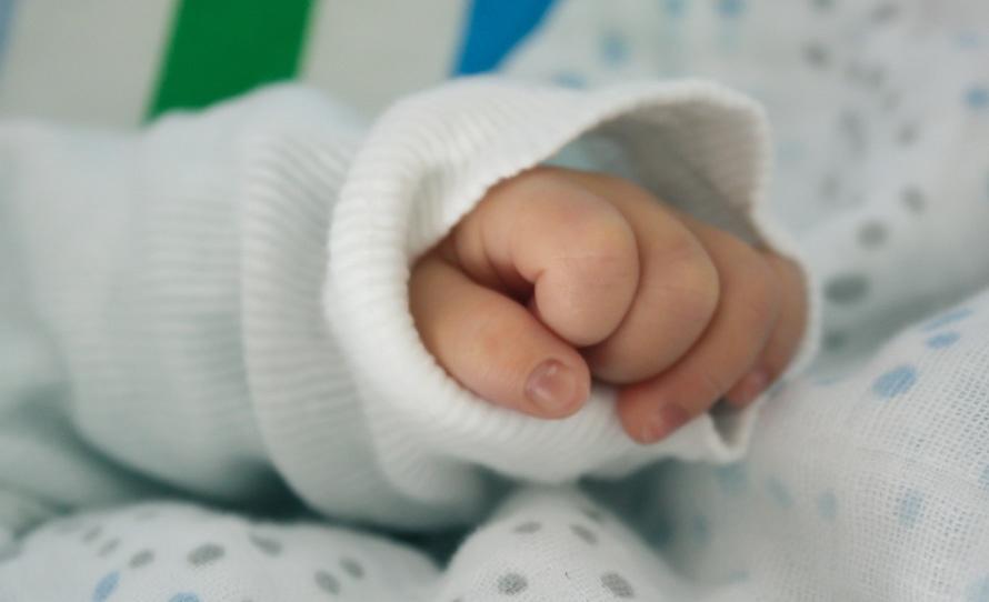 hand, child, baby