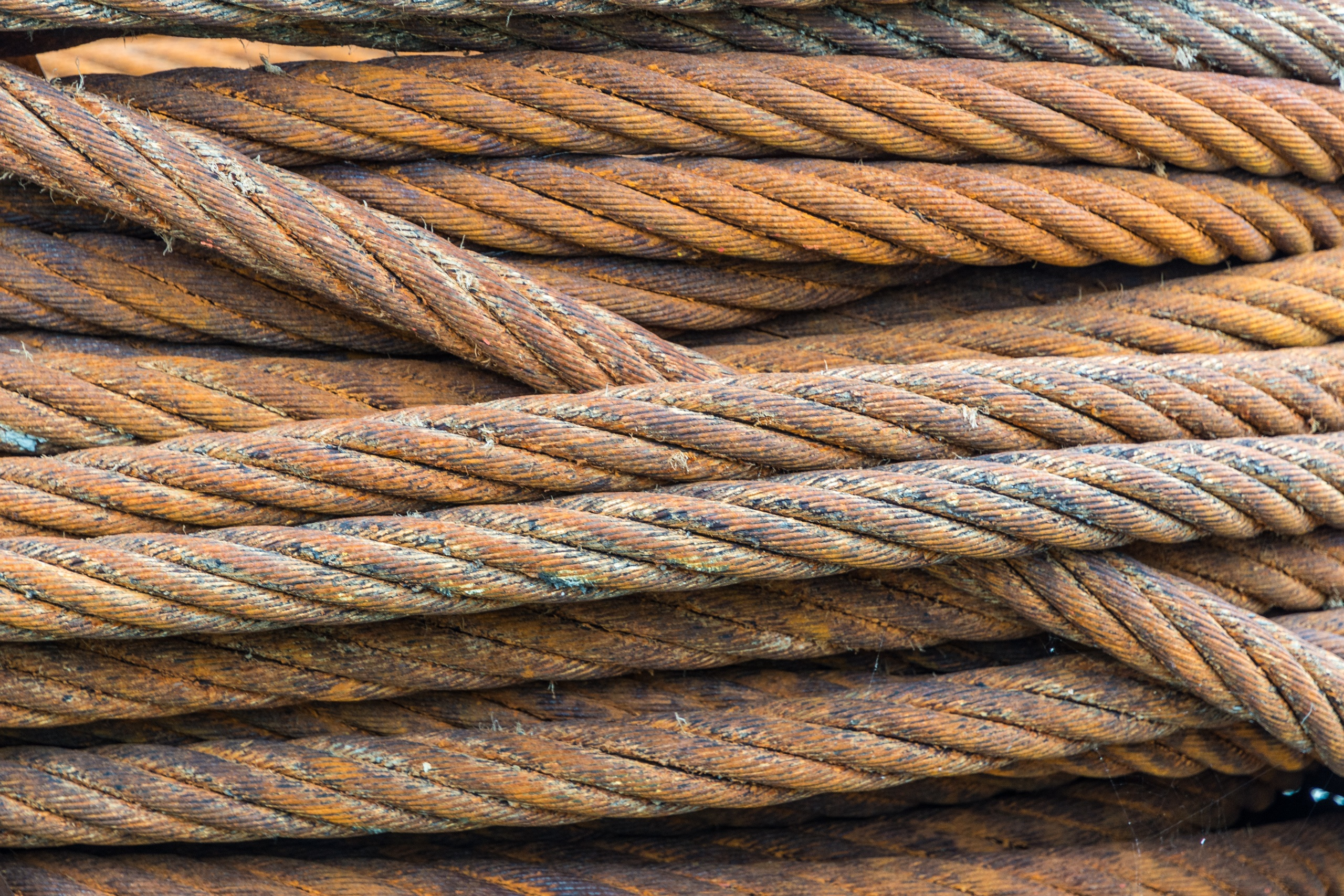 Wire Size Chart: Free stock photo of cable coil corrosion,Chart