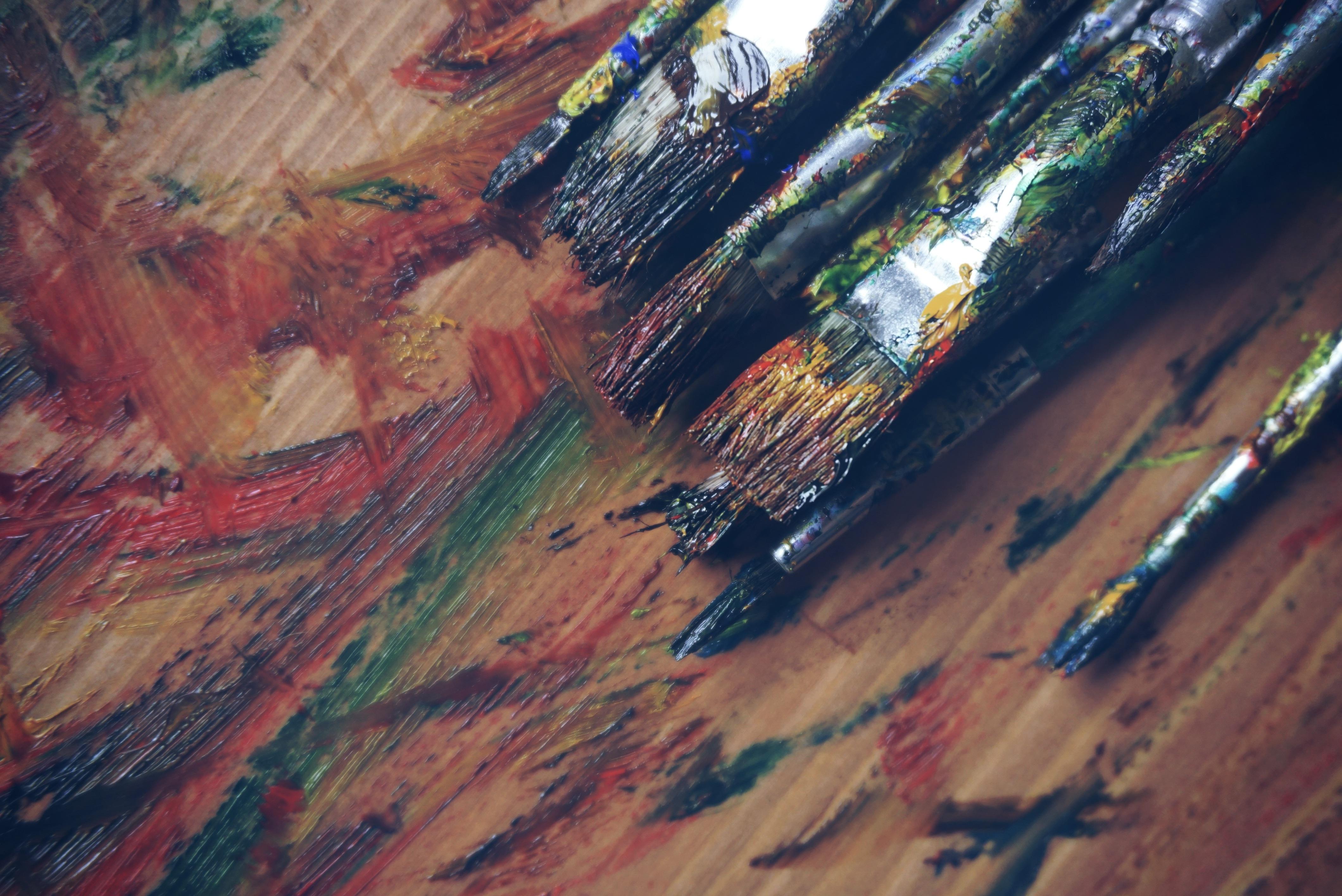 Free stock photo of art, art supplies, artist