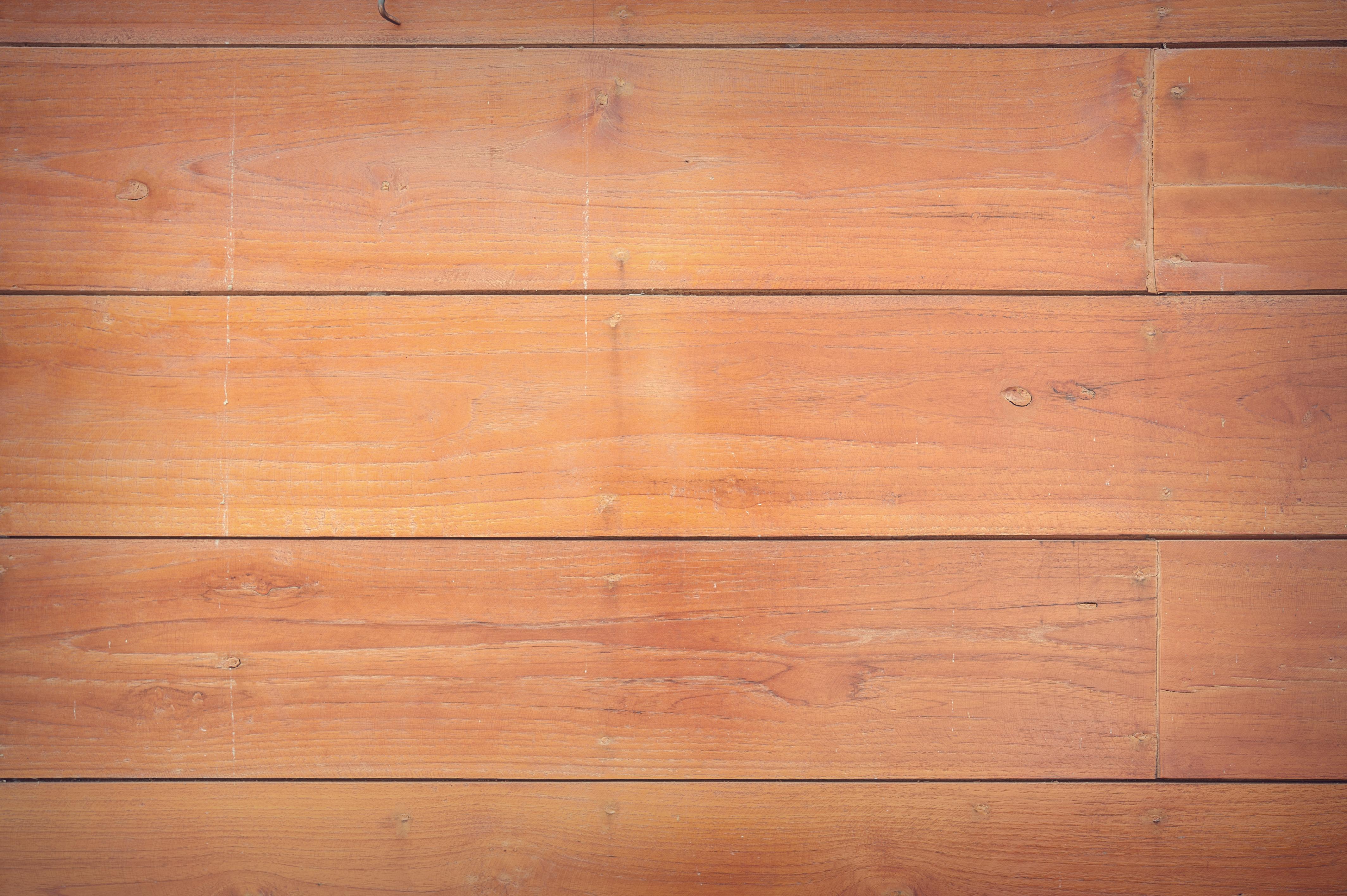 Brown Wooden WallFree Stock Photo