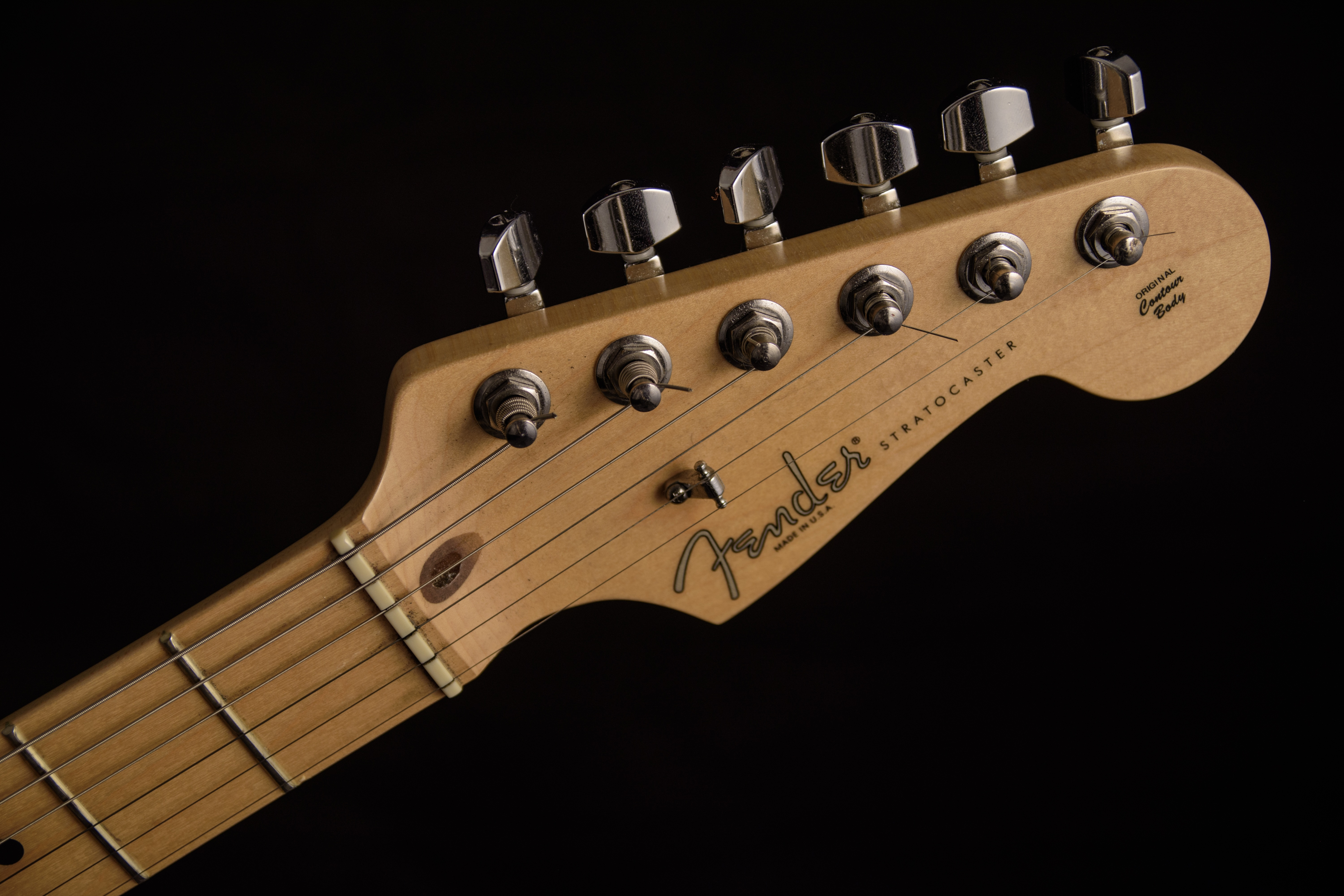 fender guitar head stock  free stock photo