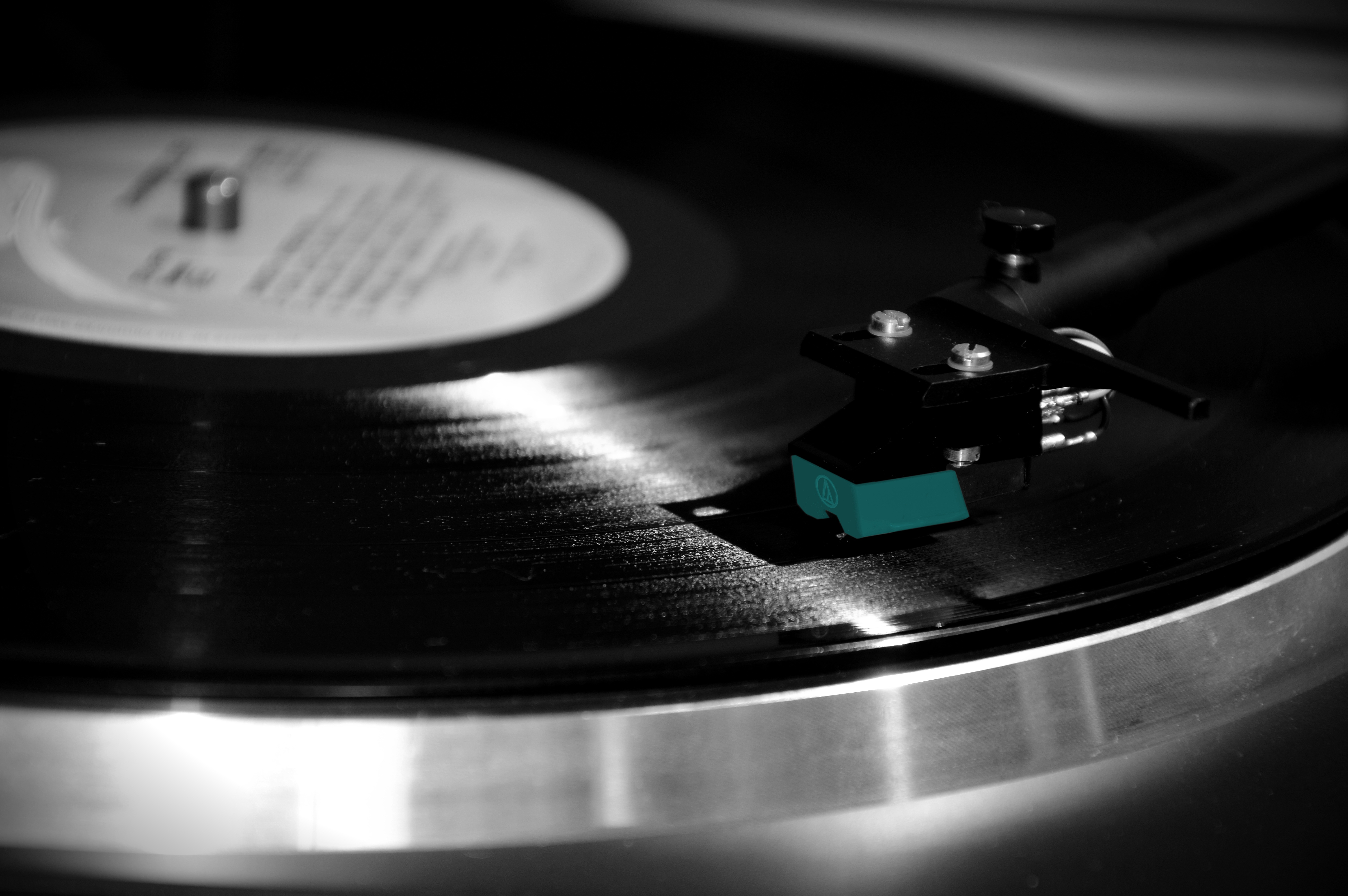 Black And Silver Turntable 183 Free Stock Photo
