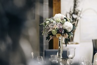 flowers, glass, bouquet