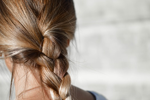 Person With Braided Hair