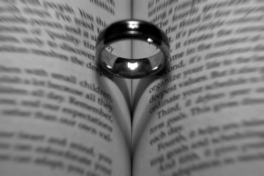 Free stock photo of love, shadow, book, ring