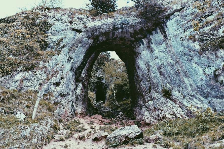 nature, mountain, path