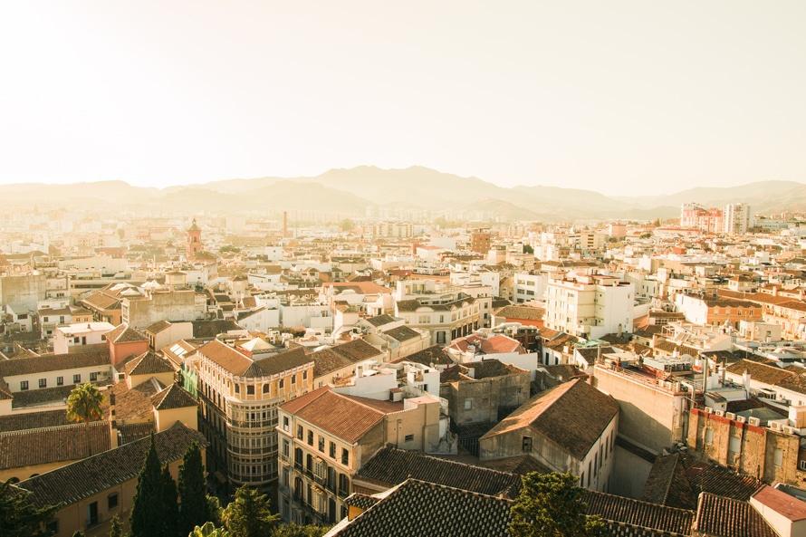 city, spain, dense
