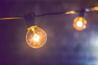 Shallow Focus Photography of Yellow String Light
