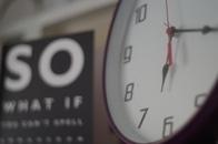 Clock at 6:17