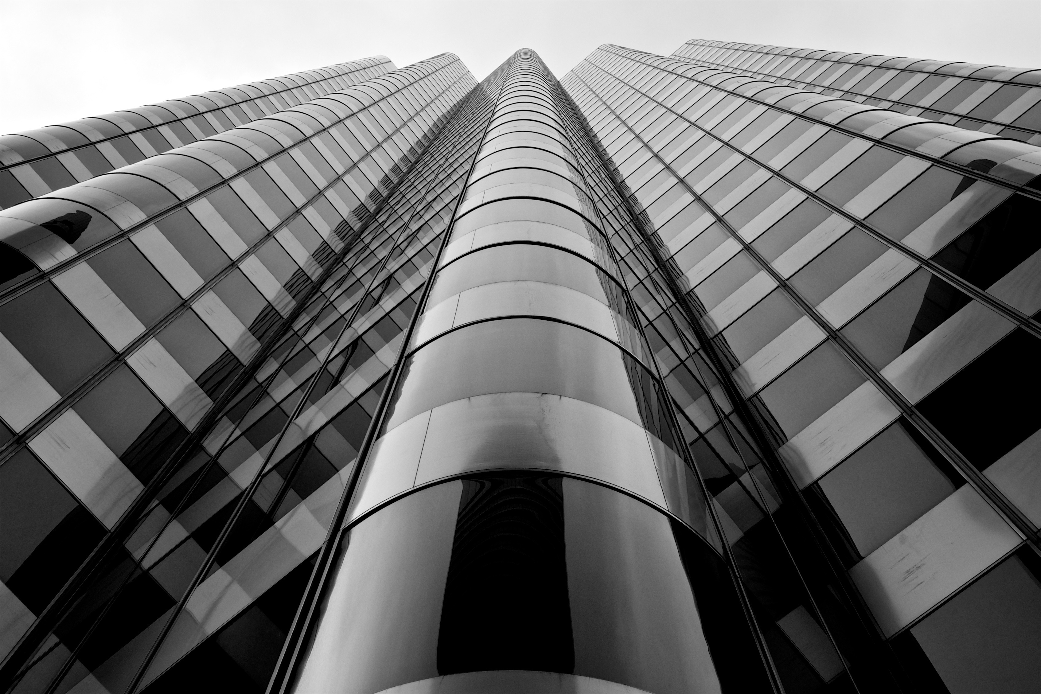 Architectural Design Software Low Angle Glass High Rise Building 183 Free Stock Photo