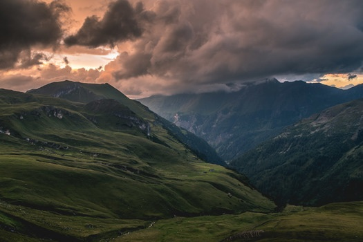 Free stock photo of landscape, nature, cloudy, mountain