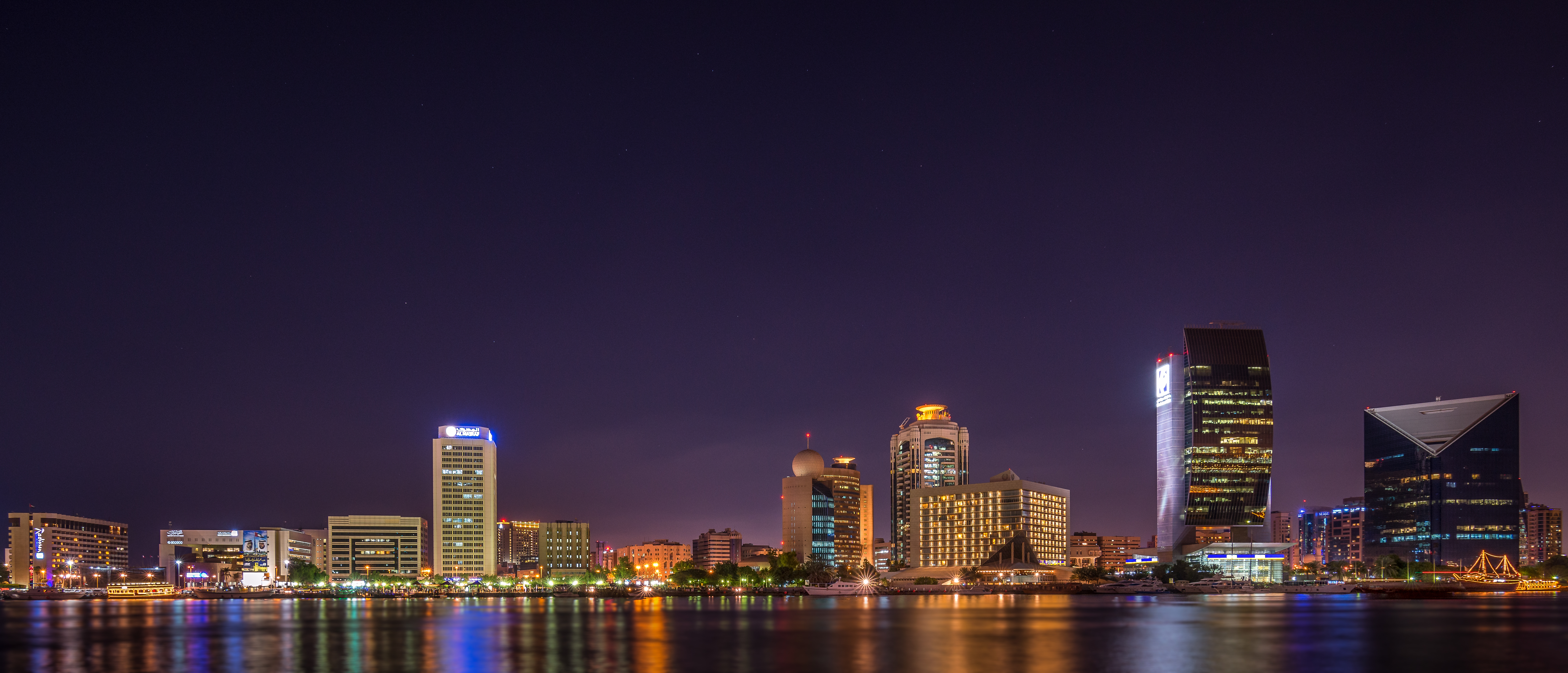 Photographing Cities At Night: Panorama Photography Of City At Night · Free Stock Photo