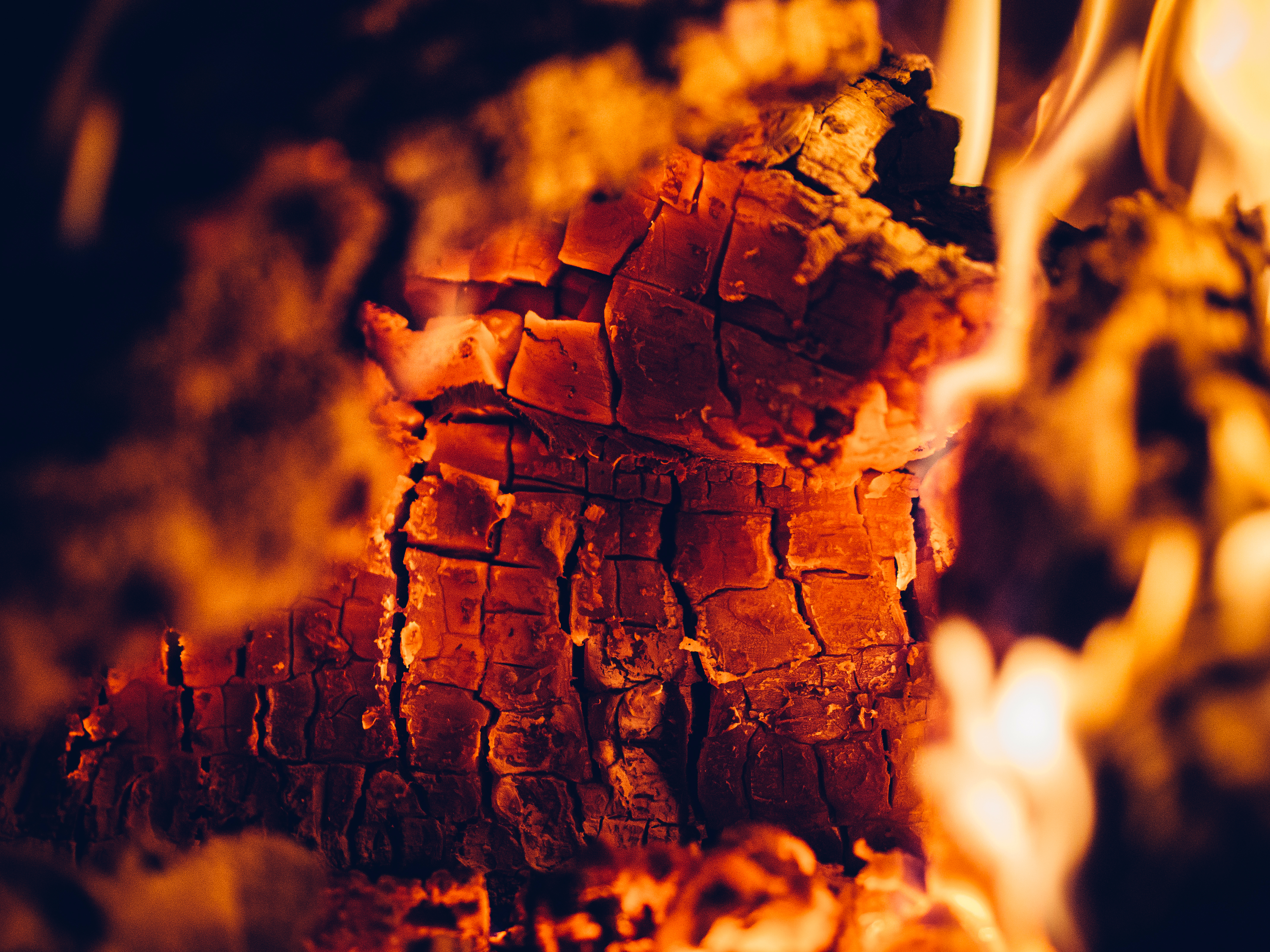 free stock photo of element ember fire