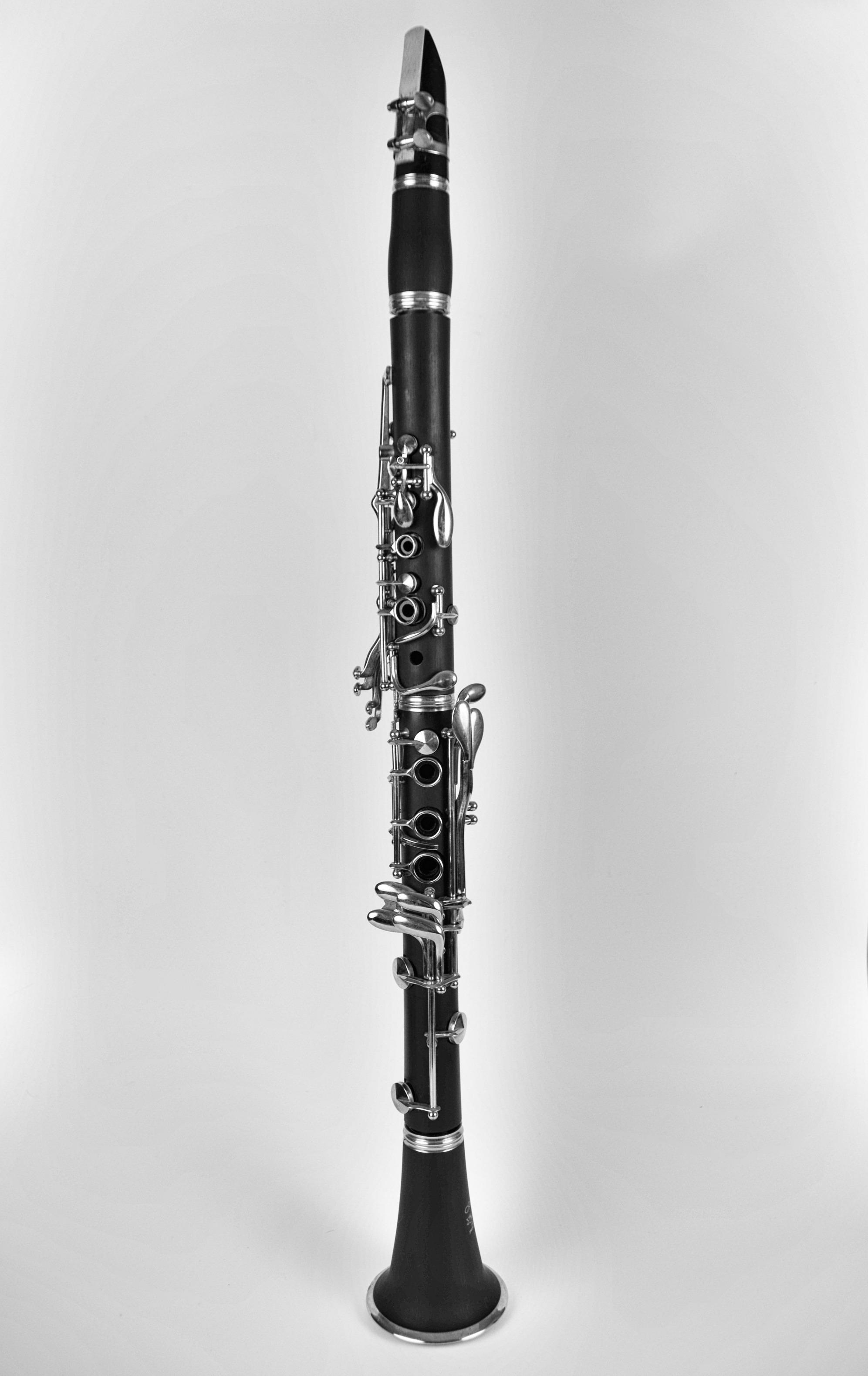 free stock photo of clarinette instrument de musique jazz