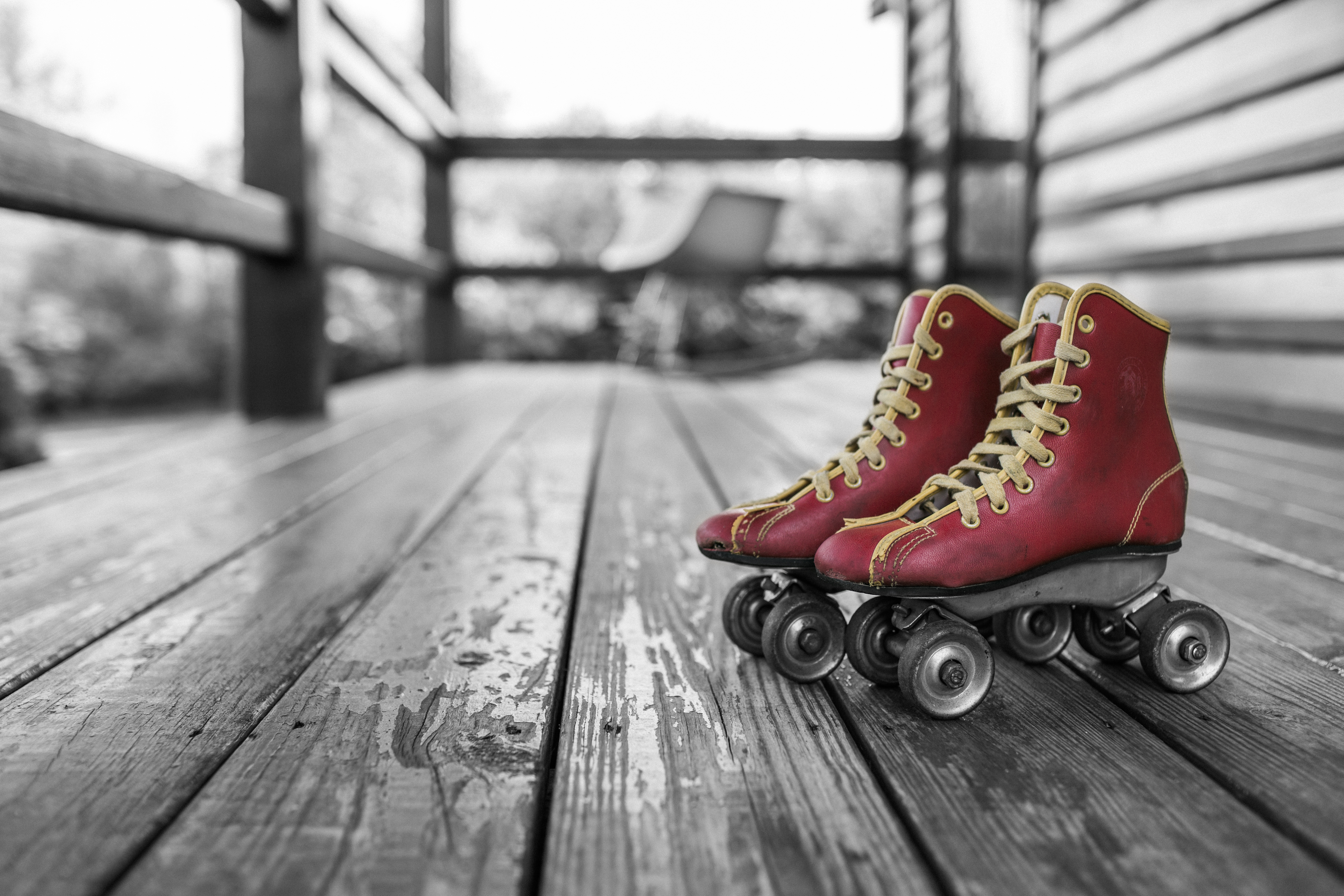 Roller skates for free - Free Stock Photo Of Red Vintage Shoes Sport Man Jumping On Rollerskates Ramp