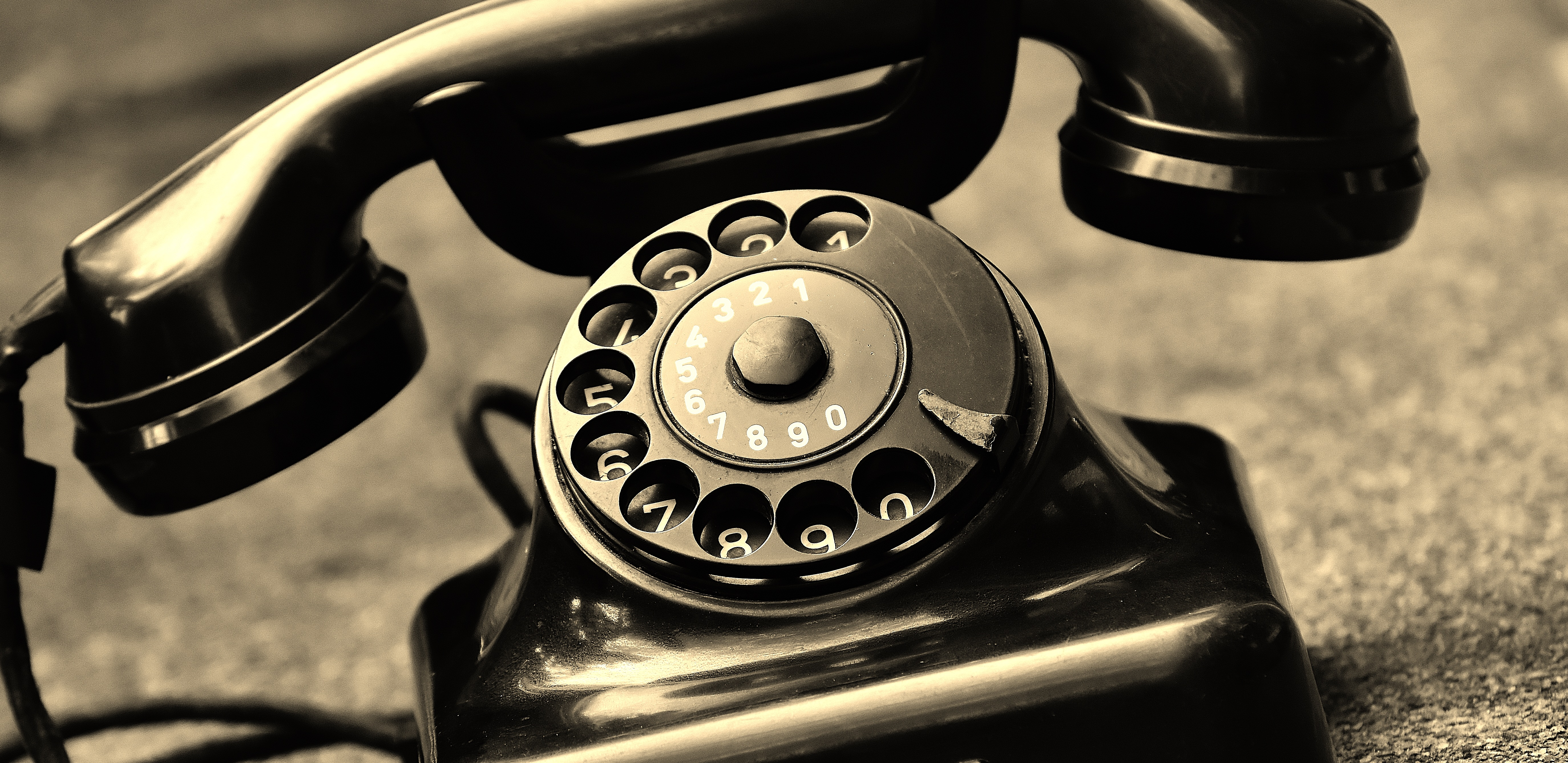 black vintage telephone free stock photo. Black Bedroom Furniture Sets. Home Design Ideas