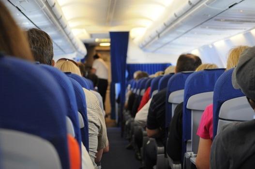 Free stock photo of flying, people, sitting, public transportation
