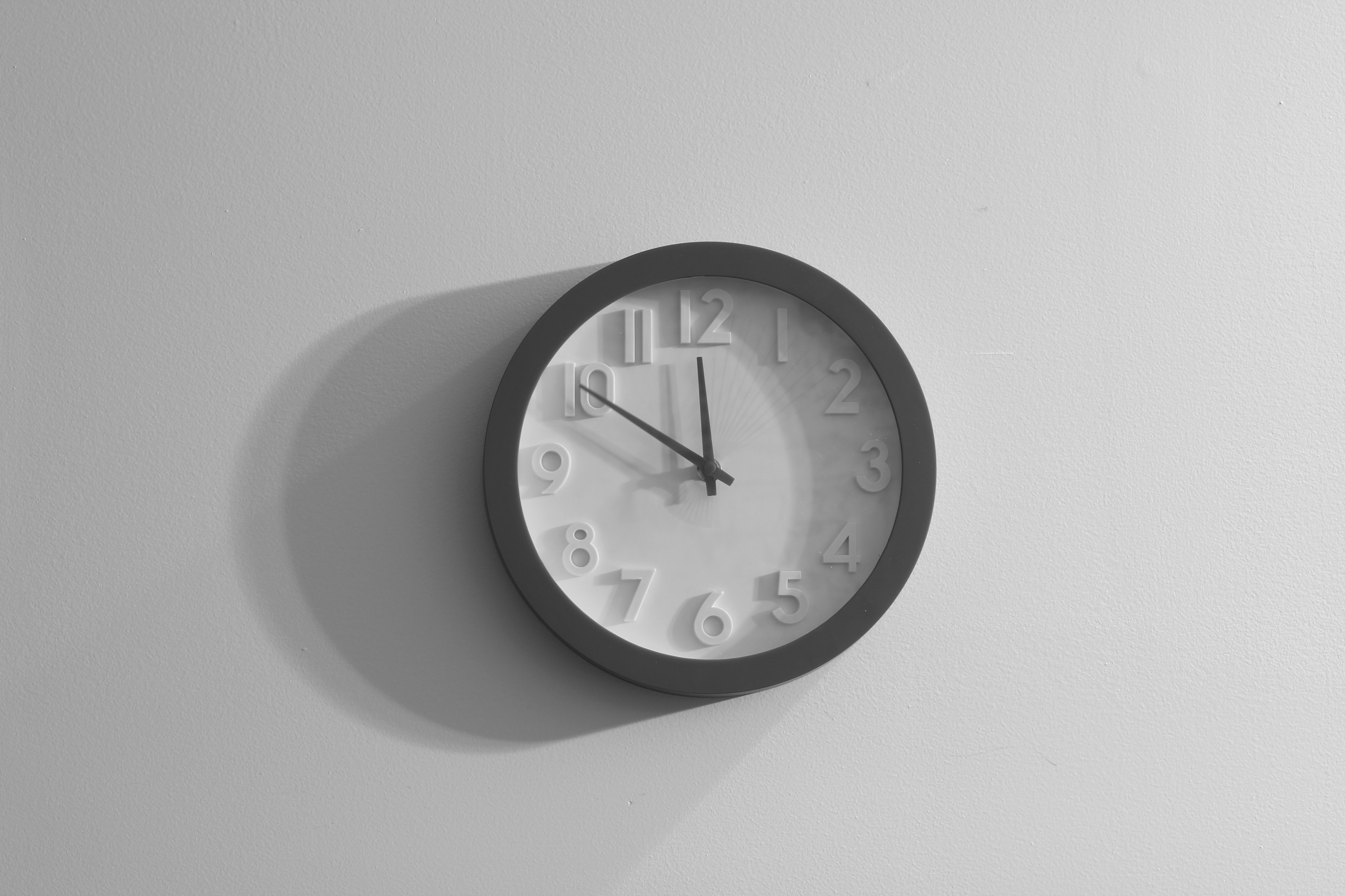 free stock photo of black and white clock gray. Black Bedroom Furniture Sets. Home Design Ideas
