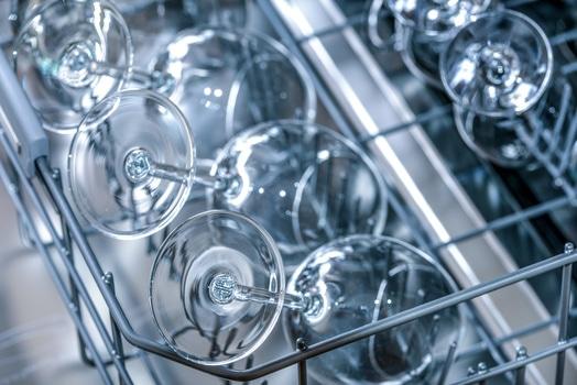 Tilt Shift Photo on Wine Glass