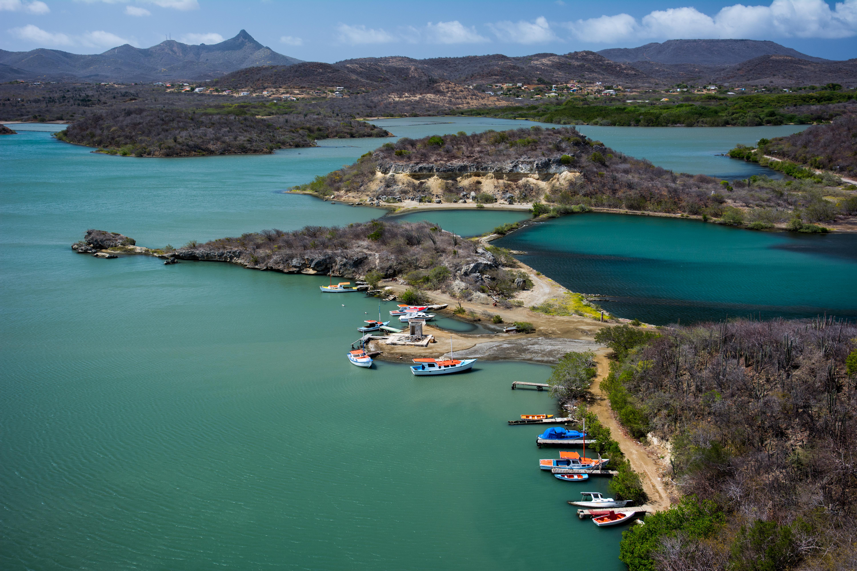 free stock photo of bay curacao sea