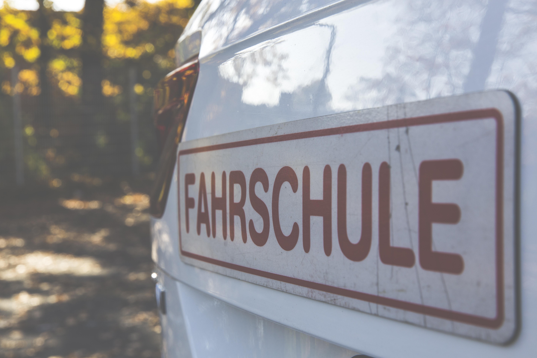 Fahrschule Signboard · Free Stock Photo
