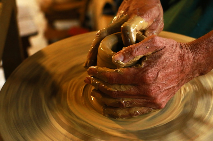 why pottery is good for depression