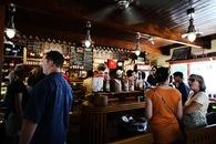 restaurant, people, alcohol