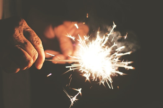 Free stock photo of hands, night, festival, new year's eve