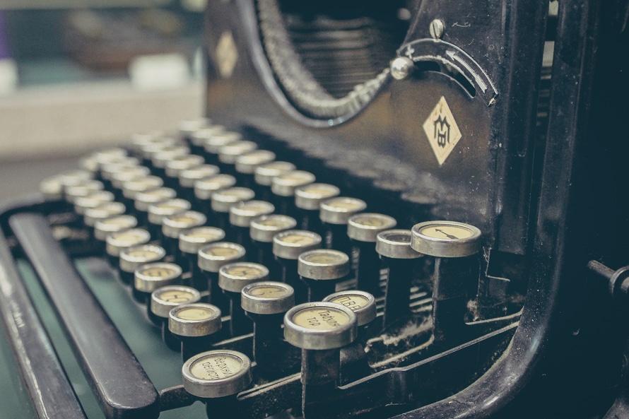 vintage, technology, keyboard