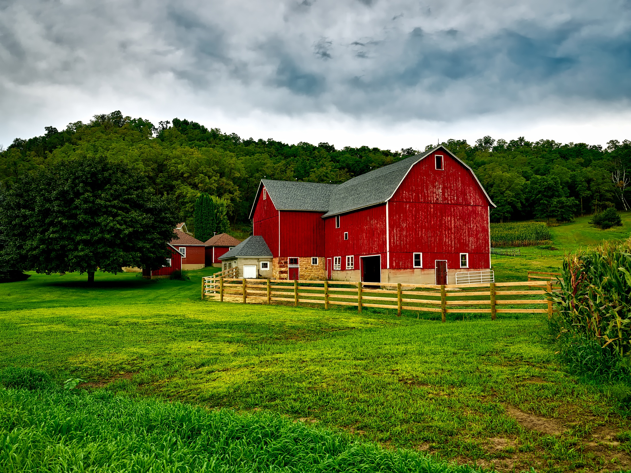 Image Result For Farm Field Drawing With Color