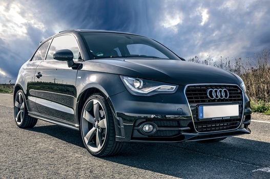 Best picture of a German Audi A1 that you can use for free.