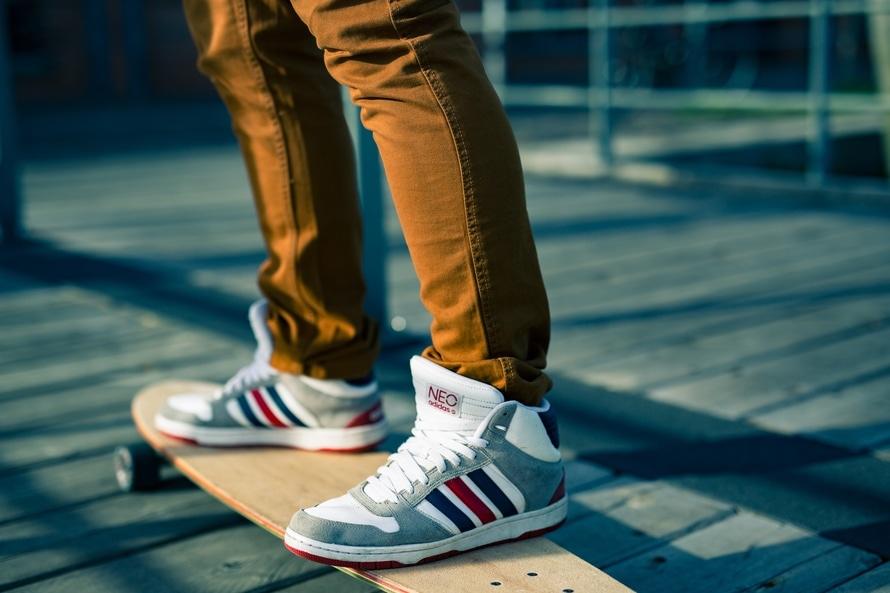 streets, sunshine, skateboard