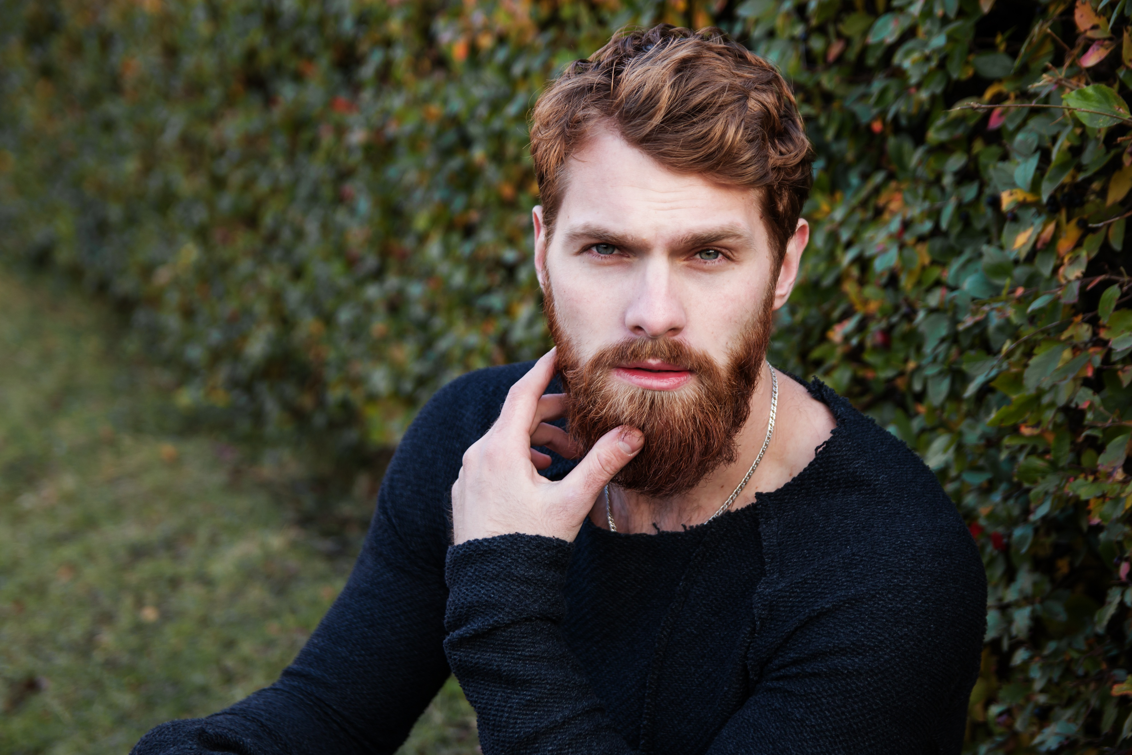 Free stock photos of beard pexels portrait of young man in autumn urmus Image collections