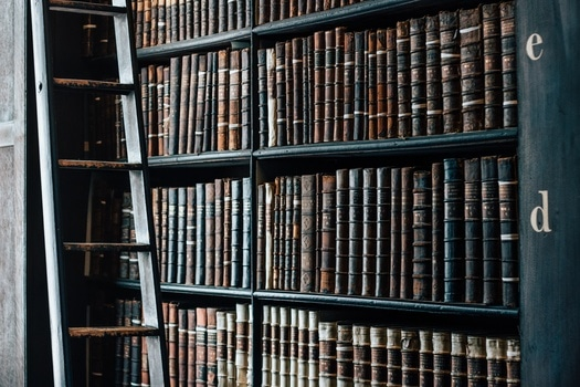 Free stock photo of books, vintage, old, library