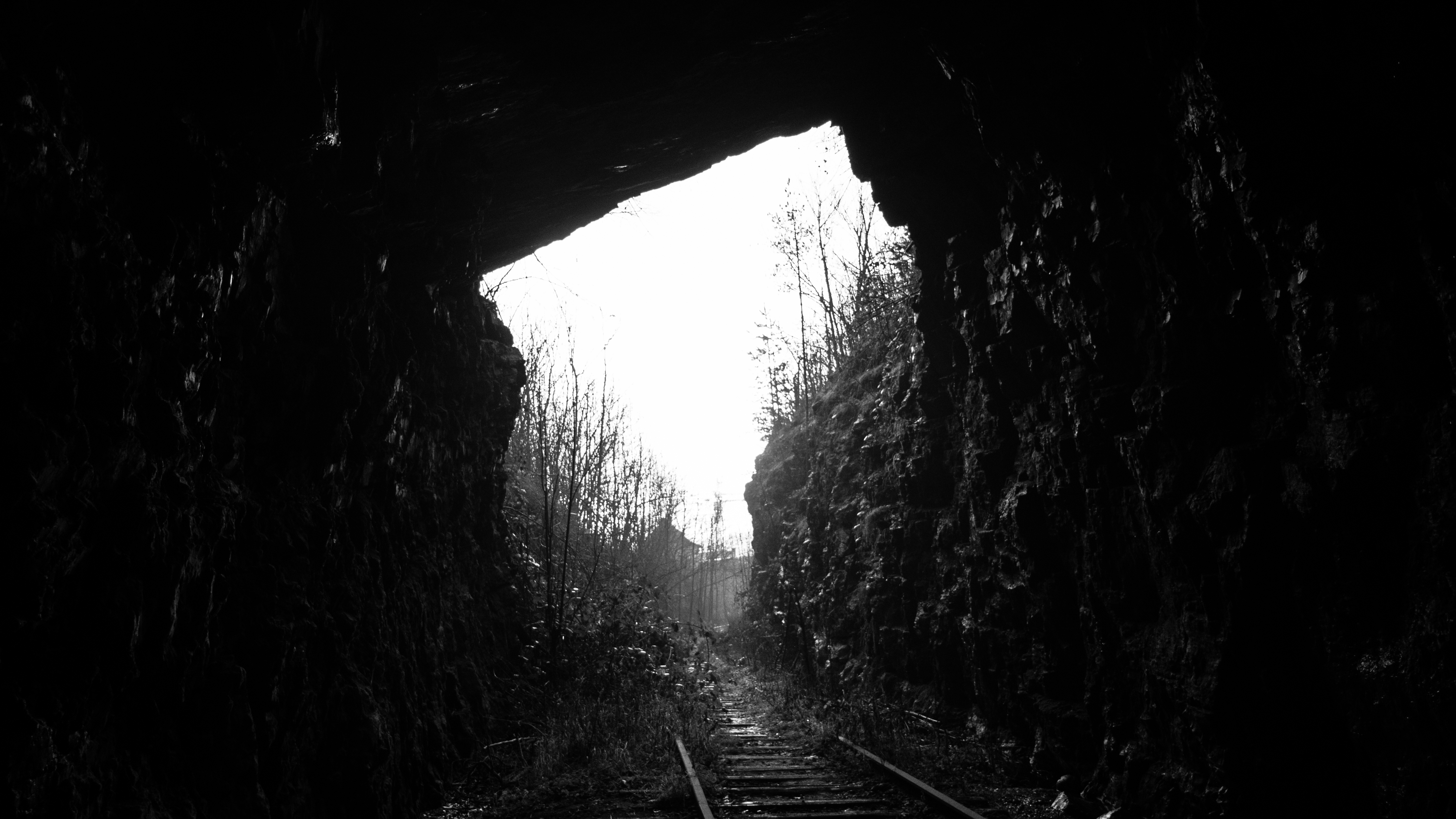 Image of a dark cave