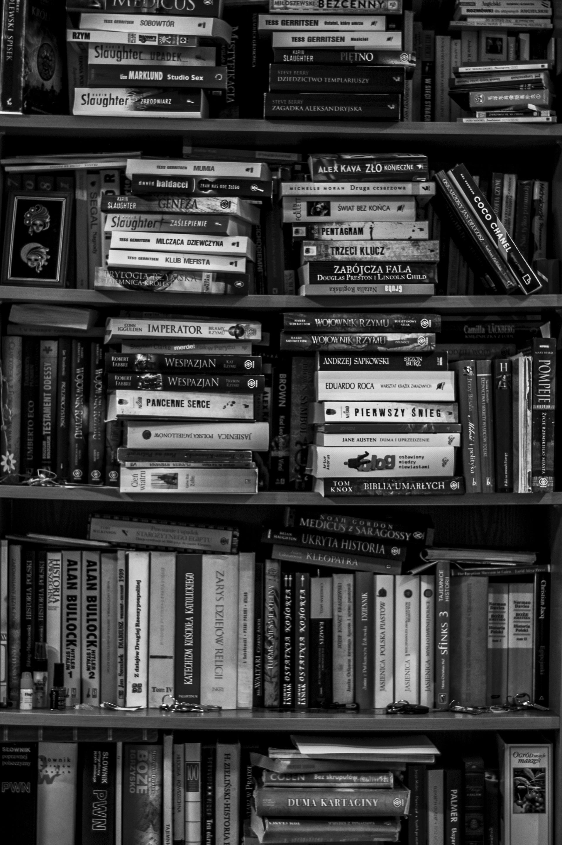 Full Frame Shot Of Shelf 183 Free Stock Photo