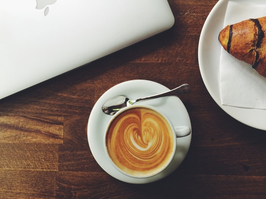 caffeine, coffee, desk